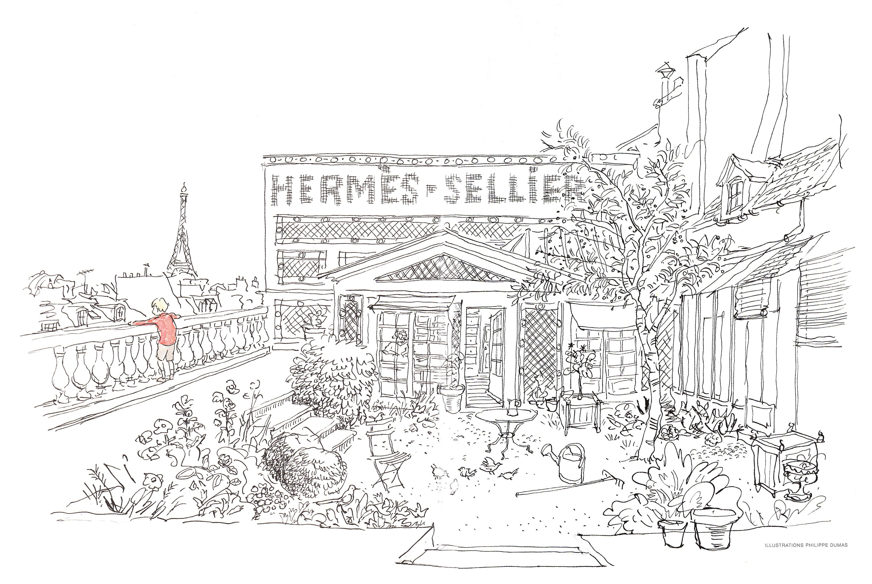 Hermesology blog archive unjardin rooftop - Un jardin sur le toit ...